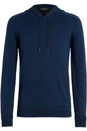 Ermenegildo Zegna Men Hoodies - Fine knit hoodie