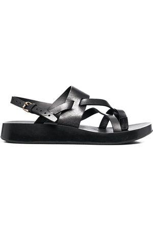Saint Laurent Leather Noah 10 sandals