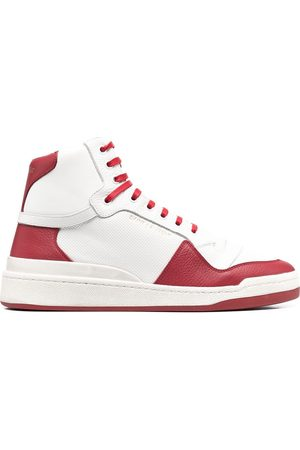 Saint Laurent SL24 panelled high-top sneakers