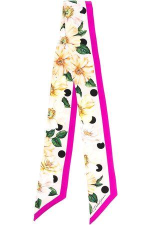 Dolce & Gabbana Women Scarves - Floral-print silk scarf