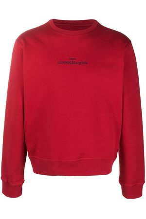 Maison Margiela Logo-embroidered sweatshirt