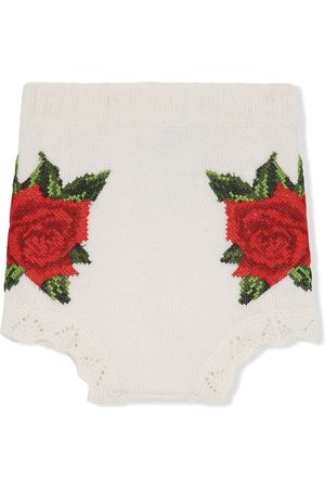 Dolce & Gabbana Cross-stitch design shorts