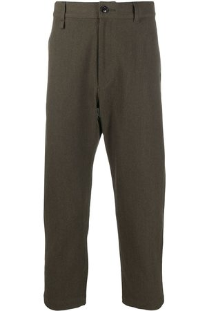 NEIGHBORHOOD Cropped tapered trousers