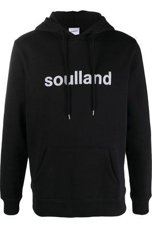 Soulland Logo print hoodie