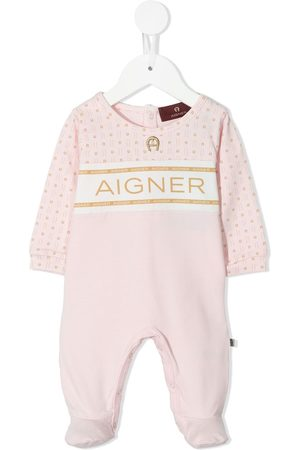 Aigner Bodysuits & All-In-Ones - Logo-yoke babygrow