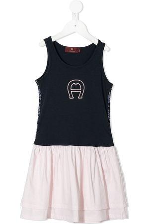 Aigner Girls Casual Dresses - Layered A-line T-shirt dress