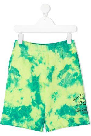 Diesel Boys Shorts - Tie-dye print shorts