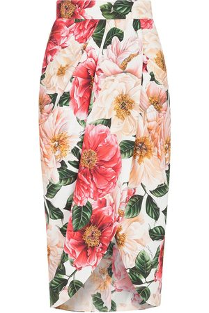 Dolce & Gabbana Women Printed Skirts - Floral print pencil skirt