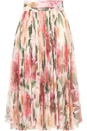 Dolce & Gabbana Women Printed Skirts - Floral-print skirt