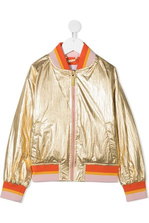 Molo Haliva metallic bomber jacket
