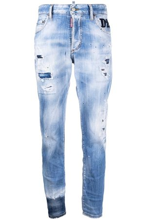 Dsquared2 Faded distressed jeans