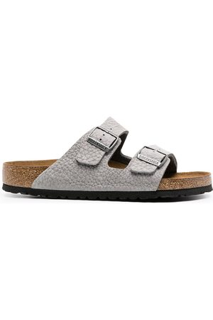Birkenstock Men Sandals - Arizonal buckled sandals - Grey