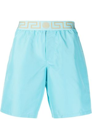VERSACE Greca waistband swimming shorts