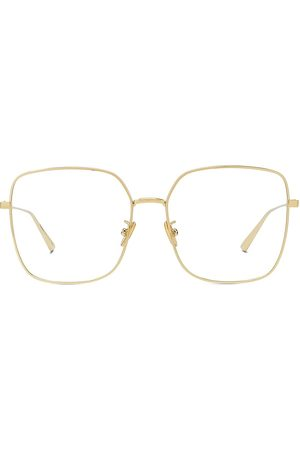 Dior Women Square - Women's 56MM Gem Metal Square Eyeglasses