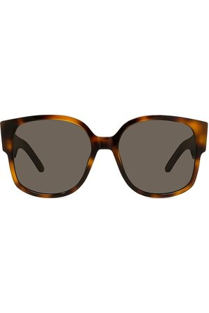 Dior Women's 58MM Wil Square Sunglasses - Blonde Havana