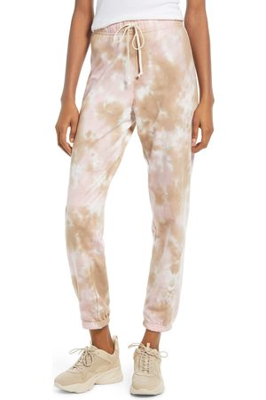 Treasure & Bond Women's Tie Dye Boyfriend Joggers