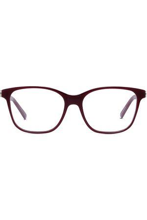 Dior Women's 54MM 30Montaigne Butterfly Eyeglasses - Shiny Bordeaux
