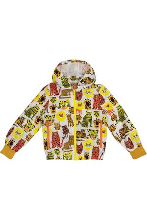 Stella McCartney Boys Jackets - Printed technical jacket