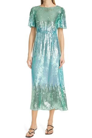 RIXO London Women's Ombre Sequin Dress
