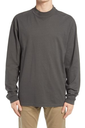 JOHN ELLIOTT Men's University Men's Long Sleeve Mock Neck T-Shirt