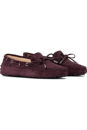 Tod's Women Loafers - Heaven suede loafers