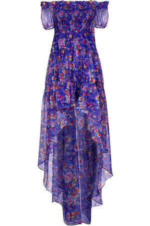 Caroline Constas Dora floral silk chiffon dress