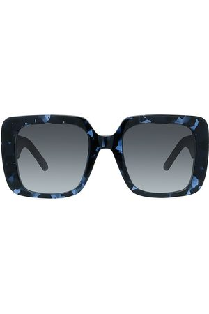 Dior Women's 55MM Wil Square Sunglasses - Havana Gradient