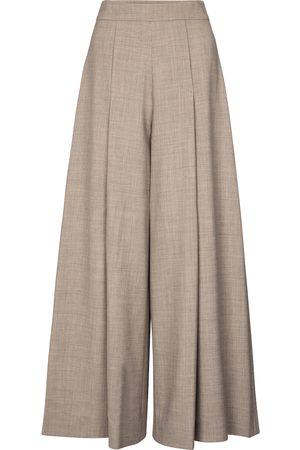 EMILIA WICKSTEAD Women Wide Leg Pants - Exclusive to Mytheresa – Pacifica wool-blend crêpe wide-leg pants