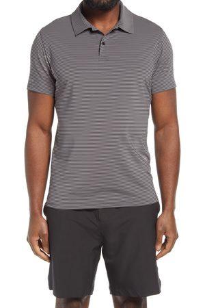 BONOBOS Men's Men's Slim Fit Stripe Performance Golf Polo