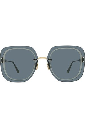 Dior Women's 65MM Ultra Metal Square Sunglasses - Shiny