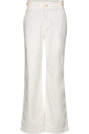 Vince High-rise straight jeans