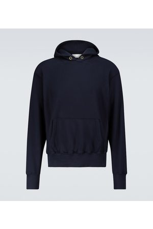 Les Tien Men Hoodies - Cropped hooded sweatshirt