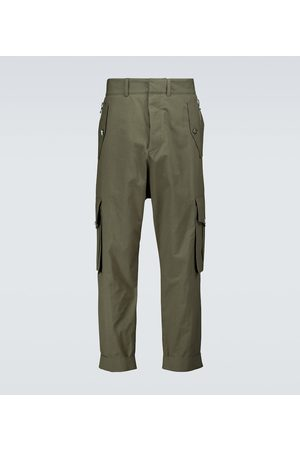 Balmain Slouchy cotton cargo pants