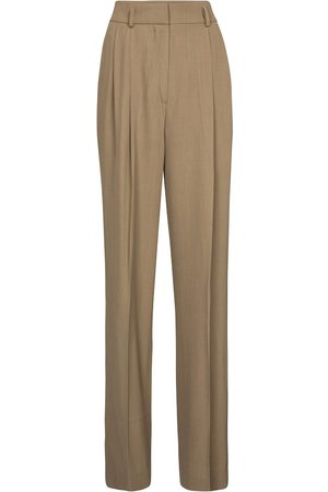 PETAR PETROV Paola wool-blend wide-leg pants