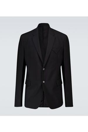 Bottega Veneta Single-breasted wool blazer