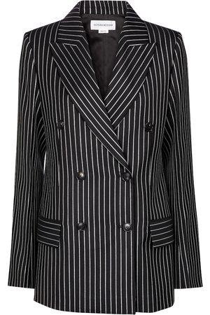 Victoria Beckham Pinstriped wool-blend blazer
