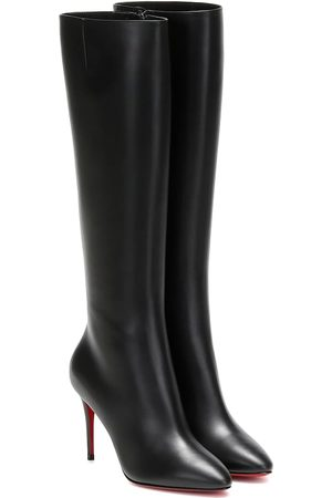 Christian Louboutin Women Thigh High Boots - Eloise 85 knee-high leather boots