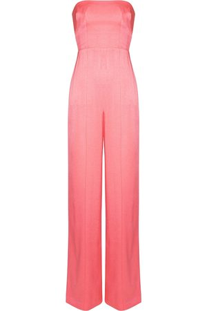 ALEX PERRY Exclusive to Mytheresa – Mackenzie crêpe satin jumpsuit