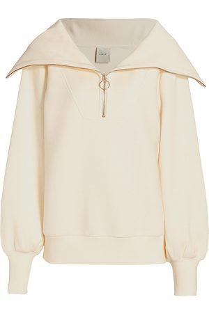 Varley Women's Vine Half-Zip Pullover - Ivory - Size XL