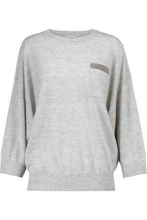 Brunello Cucinelli Linen and cotton sweater