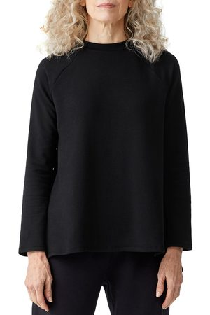 Eileen Fisher Women's Raglan Crewneck Top