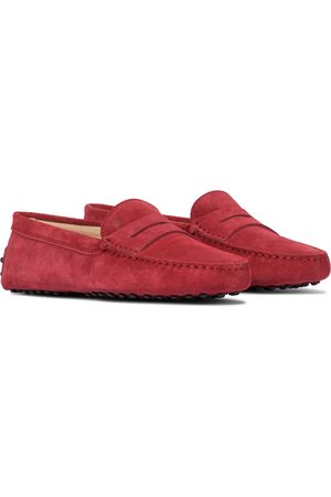 Tod's Women Loafers - Gommini suede loafers