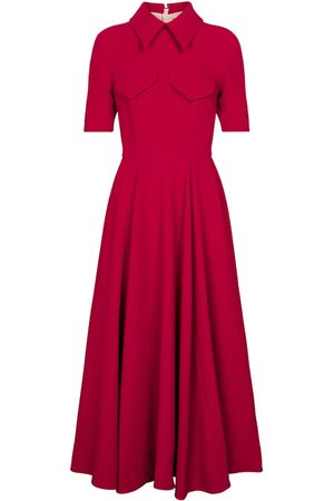 EMILIA WICKSTEAD Alice crêpe midi dress