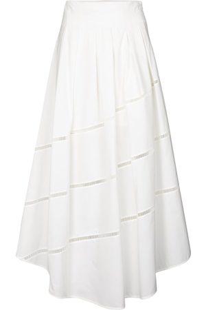 Brunello Cucinelli Women Maxi Skirts - Cotton maxi skirt