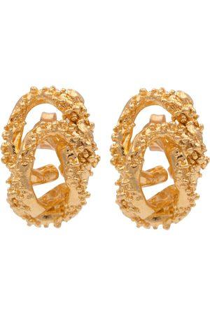 Alighieri Aphrodite 24kt -plated earrings