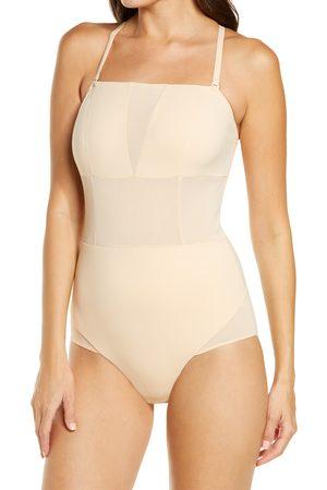 ITEM m6 Women's Mesh Detail Open Back Bodysuit