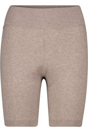 Frame Cashmere biker shorts