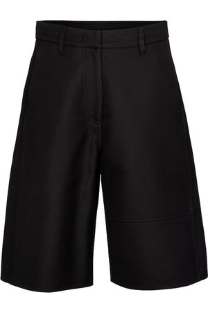 VALENTINO Women Bermudas - VGOLD cotton Bermuda shorts