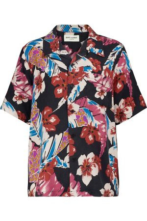 Saint Laurent Floral shirt