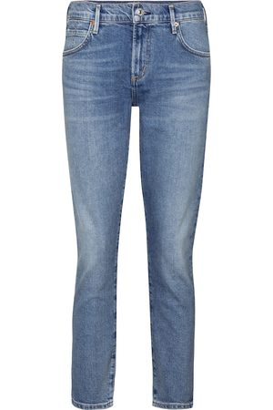 Citizens of Humanity Elsa cropped mid-rise slim jeans